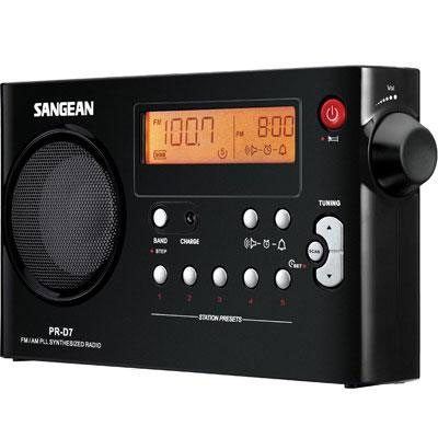 Sangean PR-D7 radio
