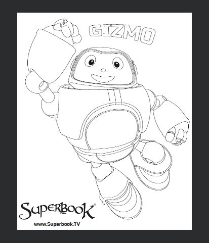 Colouring Competition - Superbook DVD Club