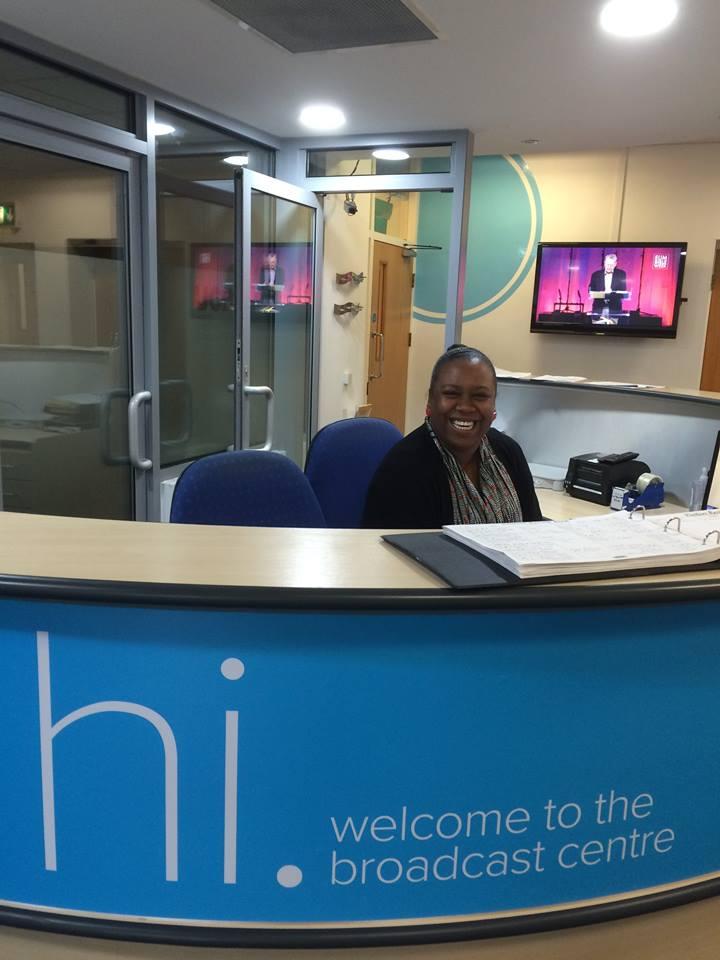 Reception at UCB UK