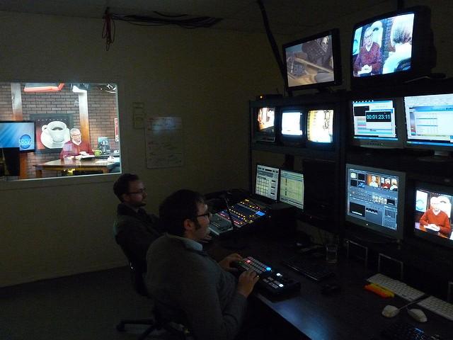 The Dove's TV studio