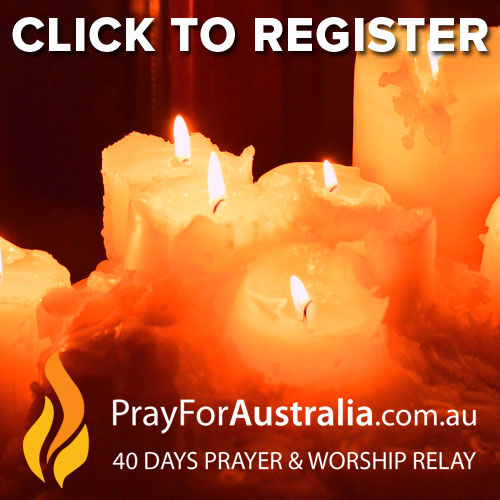 Register Here for Pray for Australia