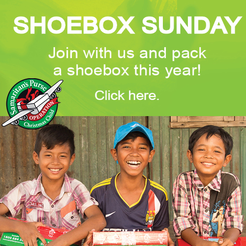 Shoebox Sunday