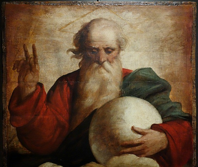 Traditional image of God