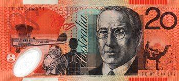 Twenty Dollar Note Featuring John Flynn