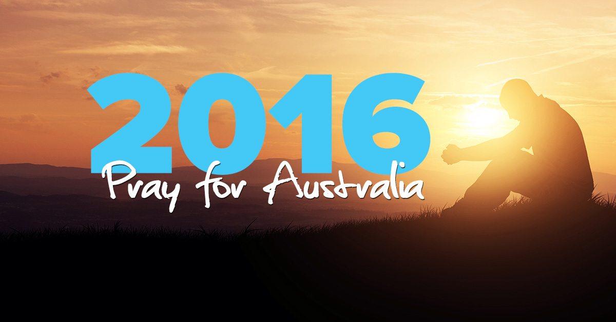 Pray For Australia - 2016