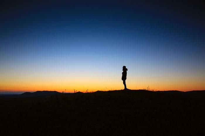 person-standing-alone