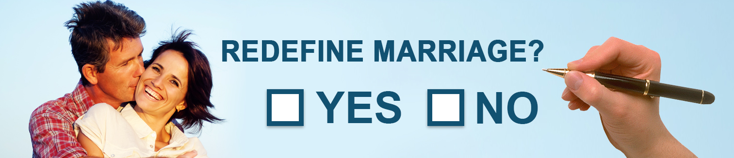 Australian Marriage Act homepage banner
