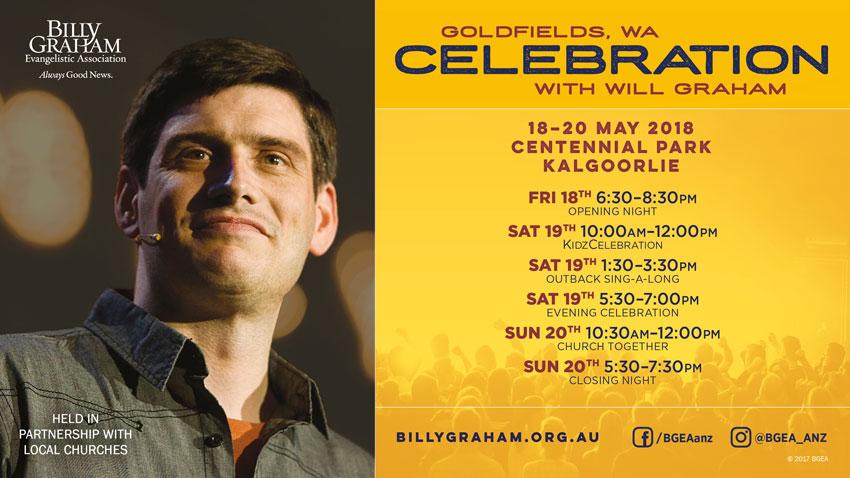 Goldfields Celebration with Will Graham