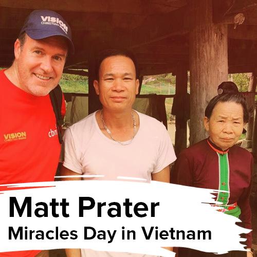 Matt Prater in Vietnam