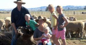 Australian farming family