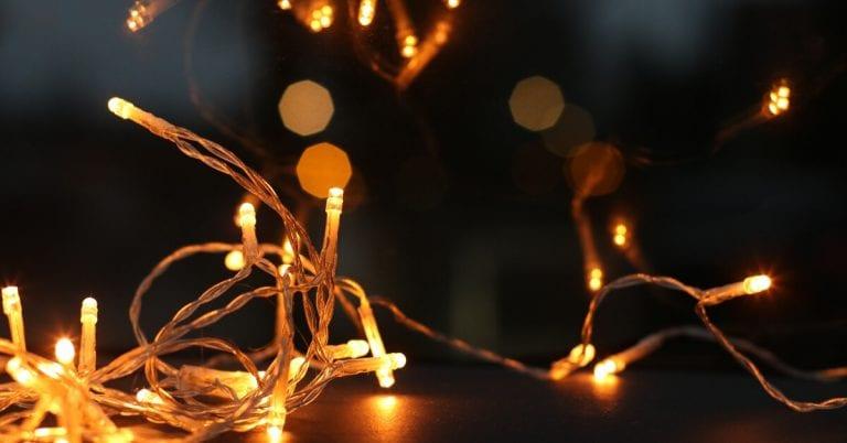 Christmas fairy lights