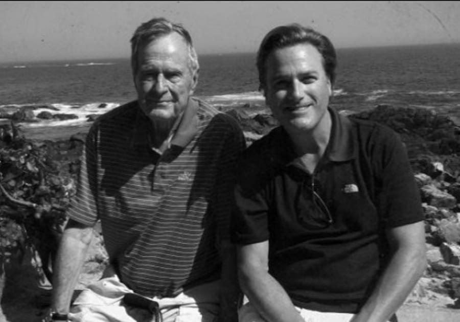 President Bush and Michael W. Smith