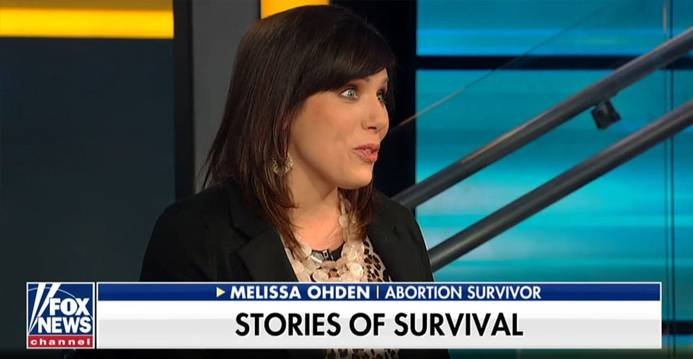 Melissa - abortion survivor