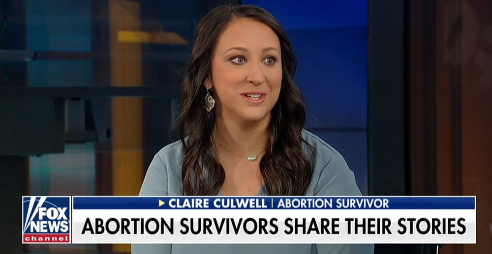 Claire - abortion survivor