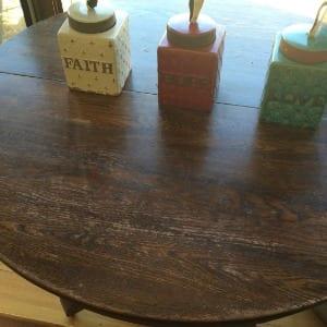 3 jars with faith hope love engraved