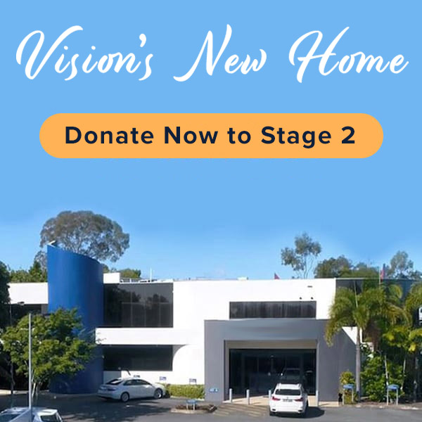 The Next Big Steps - Donate to Vision's New Home
