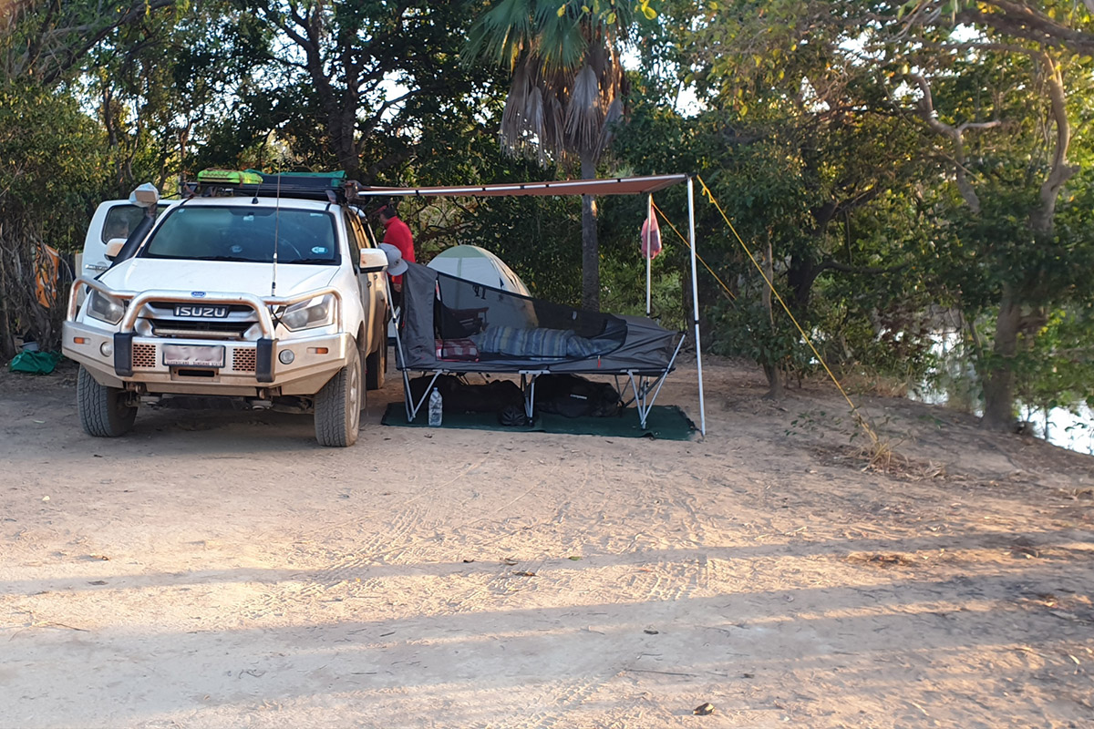 Camping on the way to Cape York
