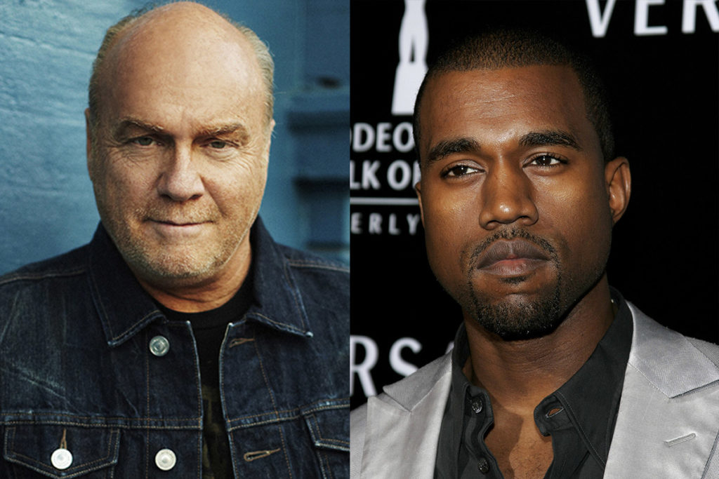 Greg Laurie and Kanye West