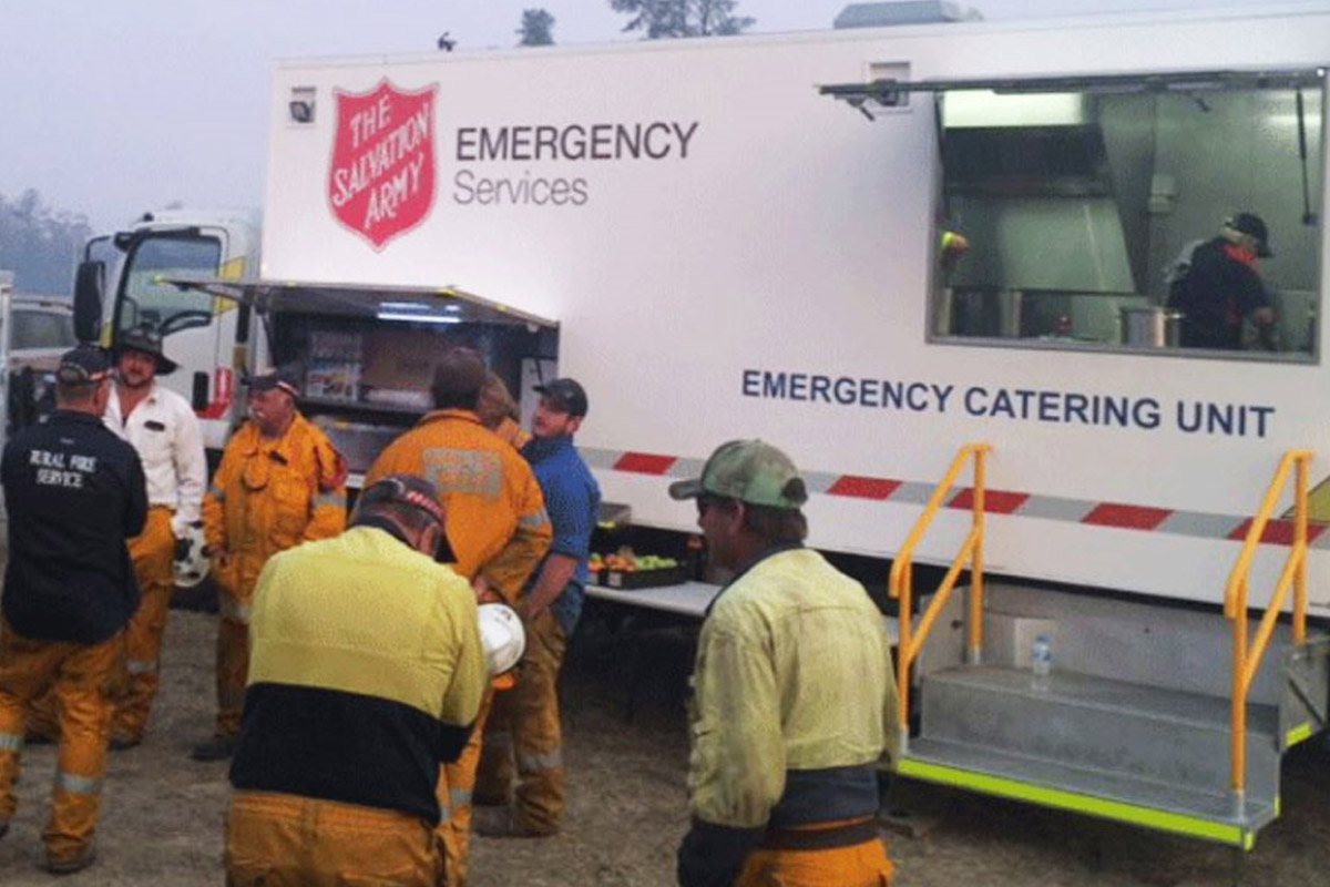 Salvation Army Bushfire Assistance