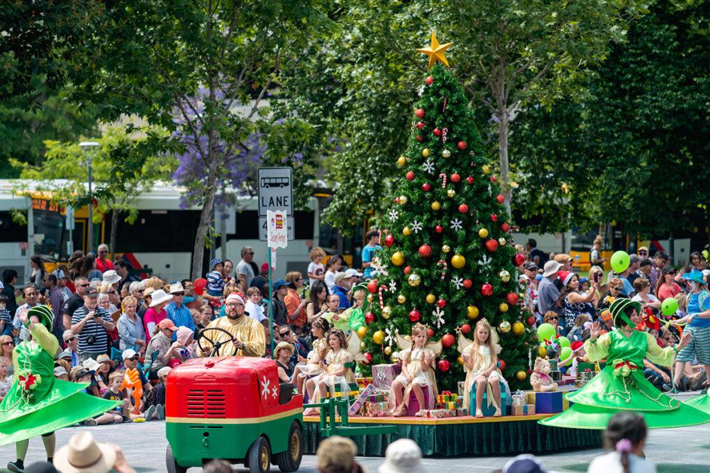 Australia Christmas parade