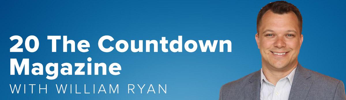 20 The Countdown Magazine with William Ryan