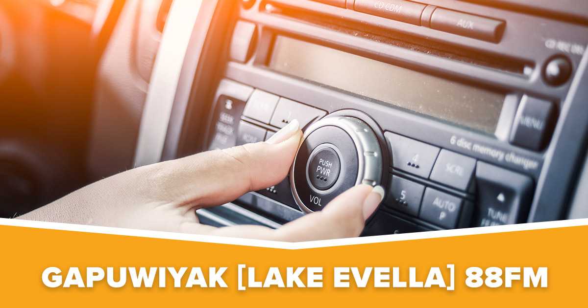 Gapuwiyak [Lake Evella] NT Christian Radio 88.0 FM