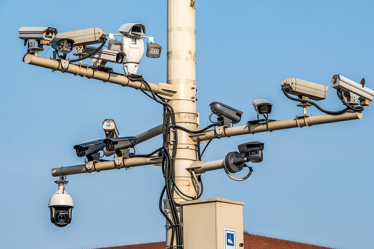 CCTV cameras in China