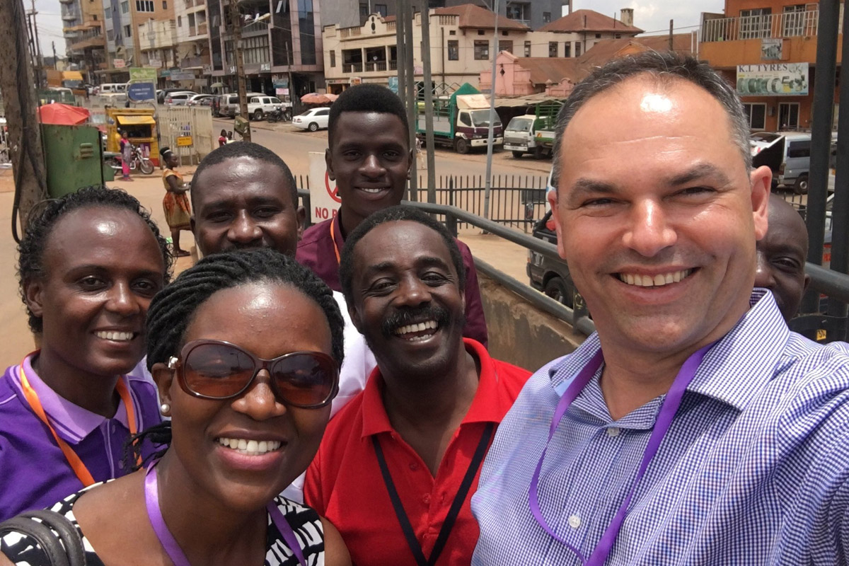 Ben Campbell, African Enterprise Australia CEO on an outreach mission in Africa