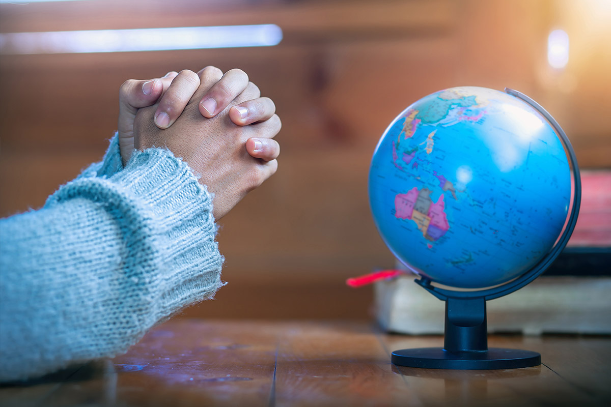 Praying over the world