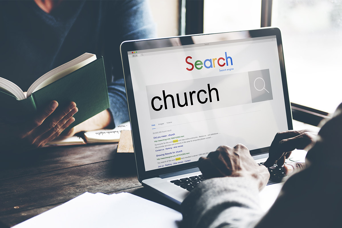 Searching for online church