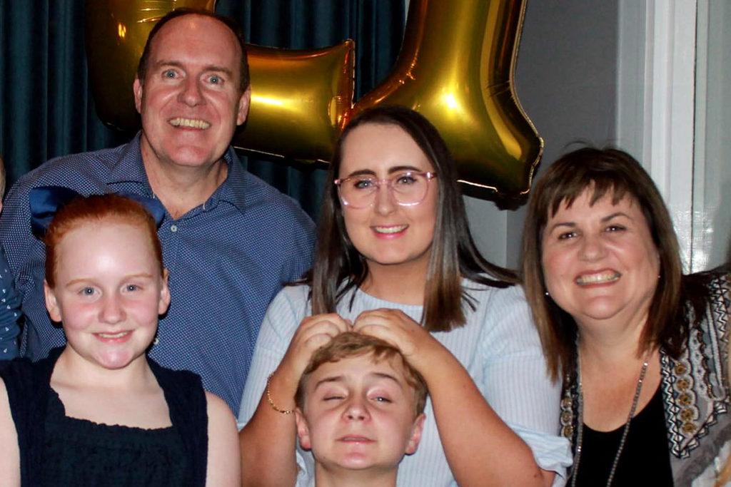 Matt Prater and family