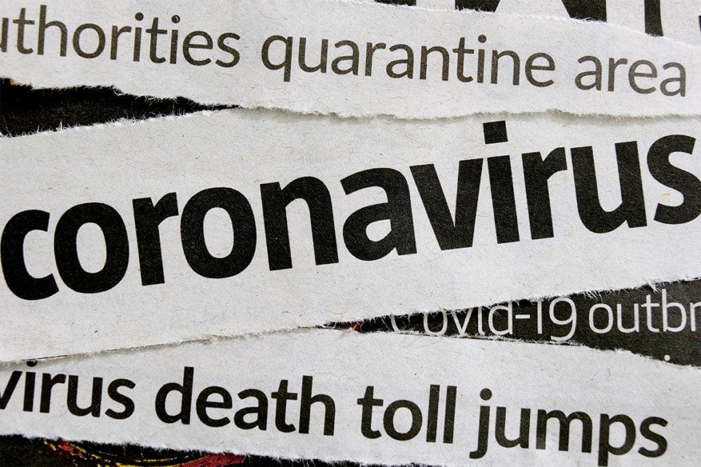 Coronavirus news headlines