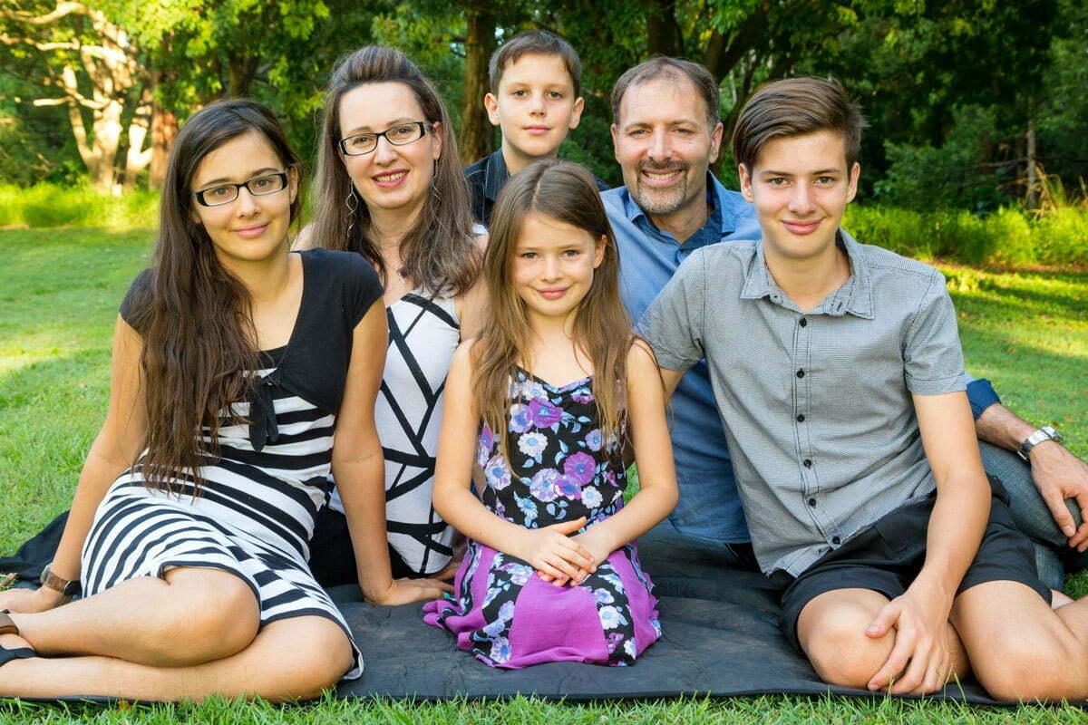 Stu Millar and family