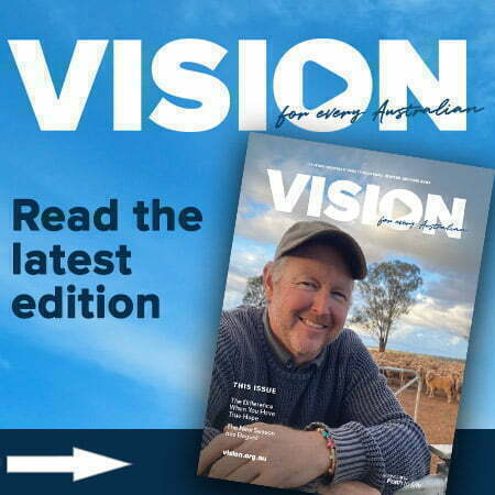 Read Vision's supporter magazine