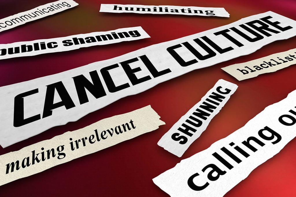 Cancel culture slogans