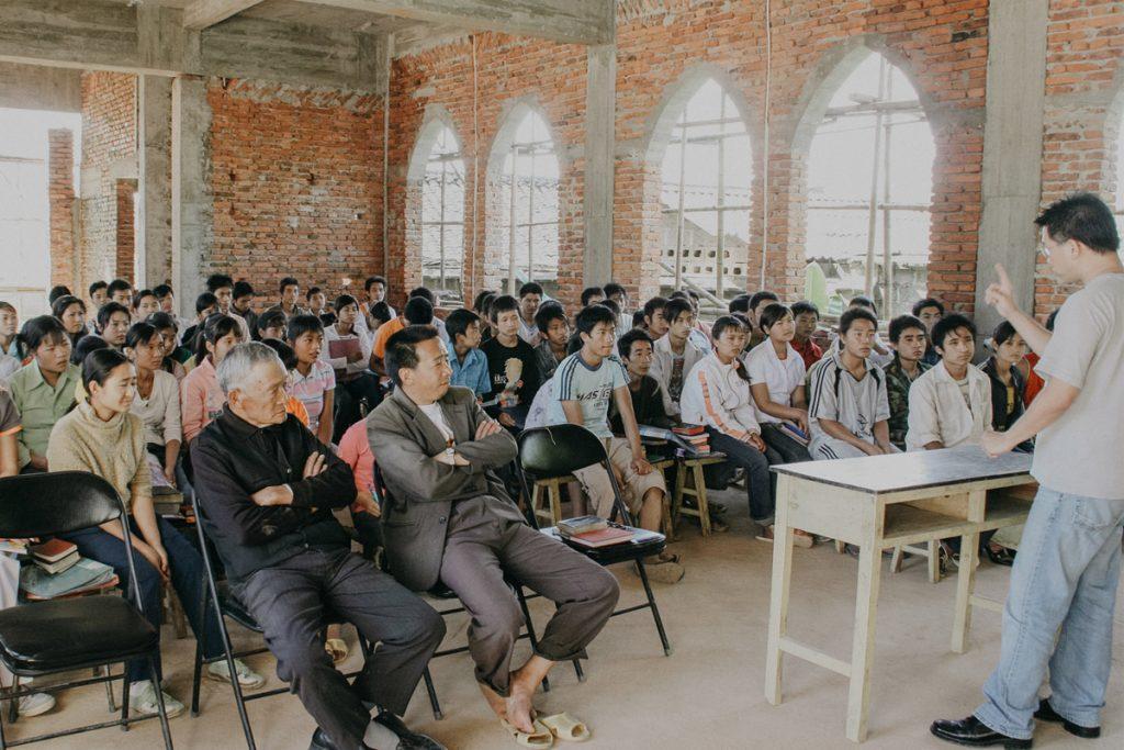 Chinese church service