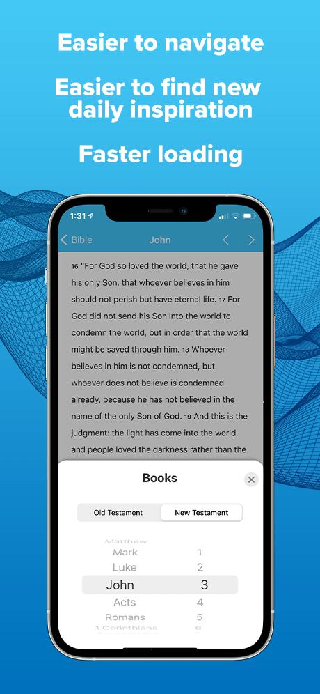 App Bible view