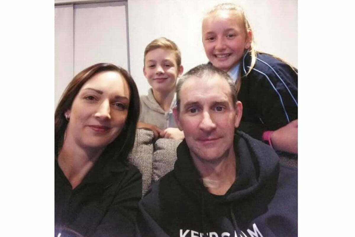 David and Kylie Paton with their children